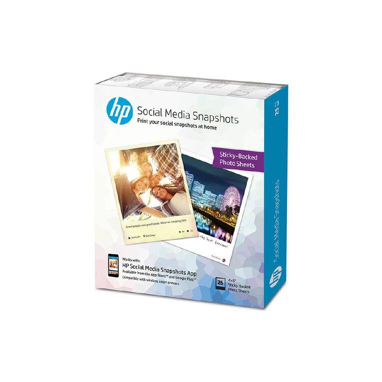 HP Social Media Snapshots Photo Paper, , hi-res