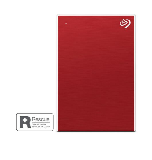 Seagate 4TB One Touch Portable - Red