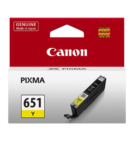 Canon CLI651Y Ink - Yellow