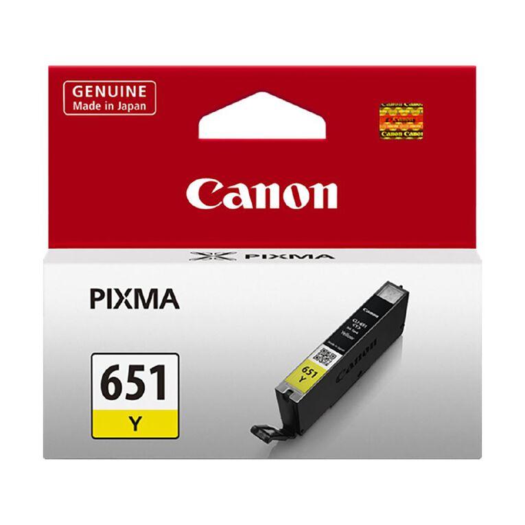 Canon CLI651Y Ink - Yellow, , hi-res