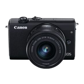 Canon EOS M200 Mirrorless Camera with 15-45mm Lens - Black