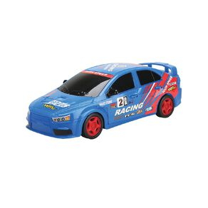 Play Remote Control Full Function Racing Car - Blue