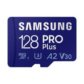 Samsung 128GB PRO Plus MicroSD Card w/Adapter