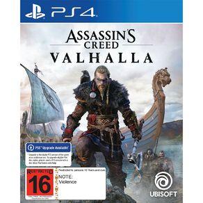 PlayStation 4 Assassin's Creed Valhalla