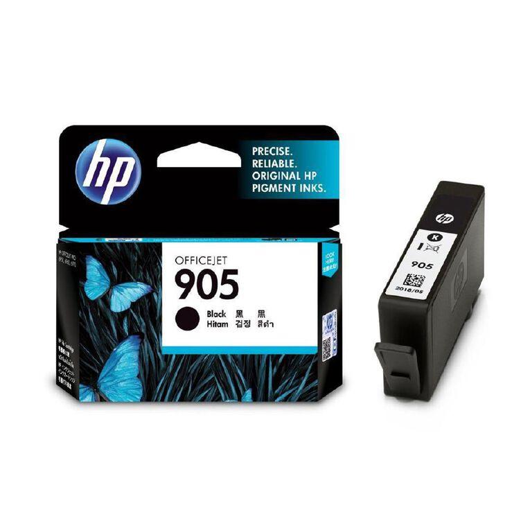 HP 905 Ink - Black, , hi-res