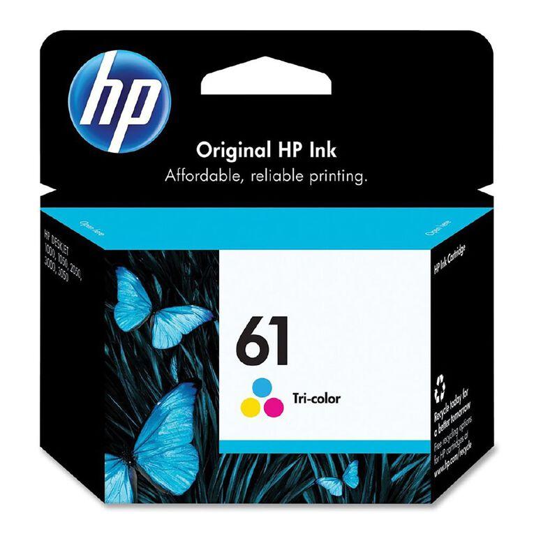 HP No.61 Ink - Colour, , hi-res