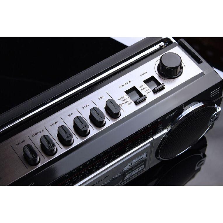 Endeavour Retro Boombox - Bluetooth/Cassette/AM/FM/SW, , hi-res