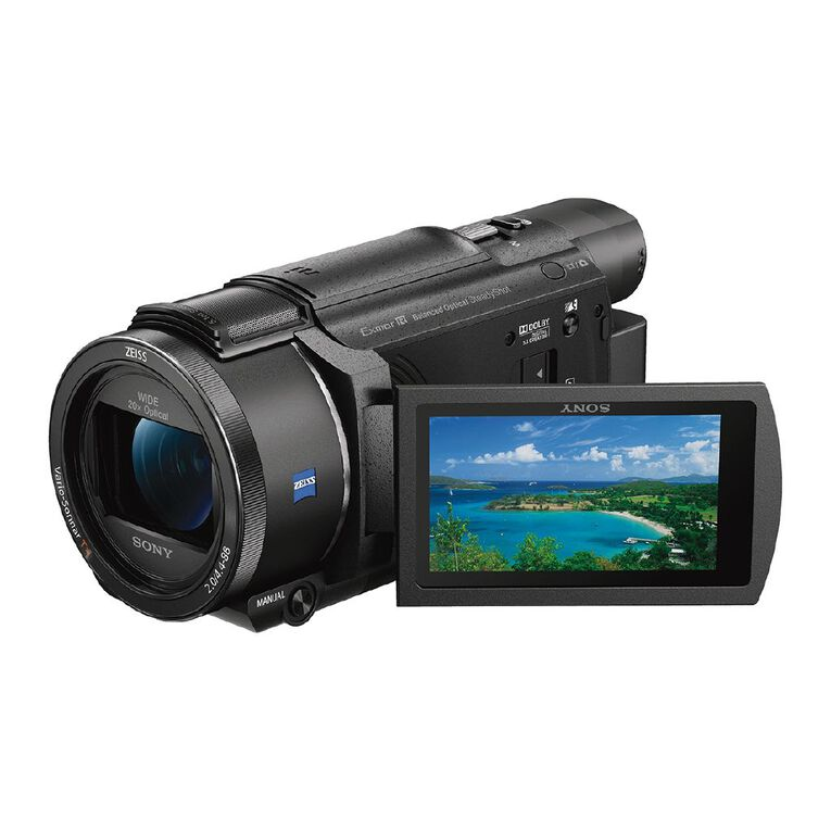 Sony FDRAX53 4K Camcorder with Exmor R CMOS sensor, , hi-res