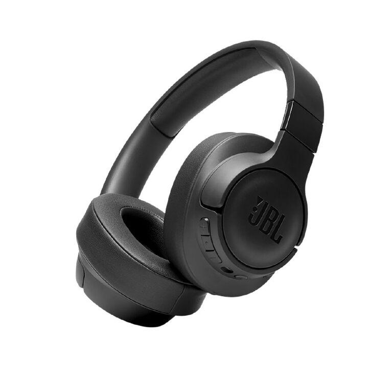 Image of JBL T760 Wireless On-Ear Noise-Cancelling Headphones - Black