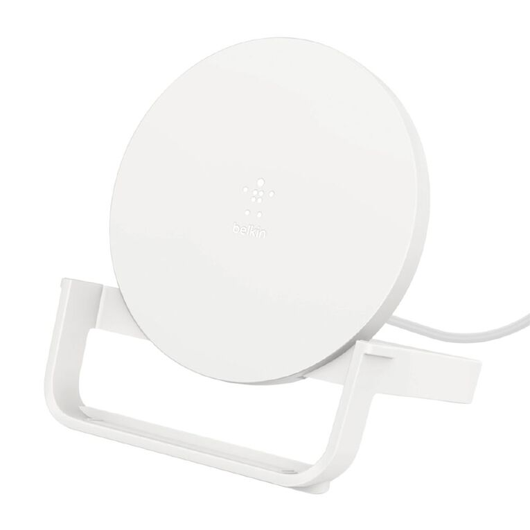 Belkin BOOST UP CHARGE 10W Wireless Charging Stand - White, , hi-res