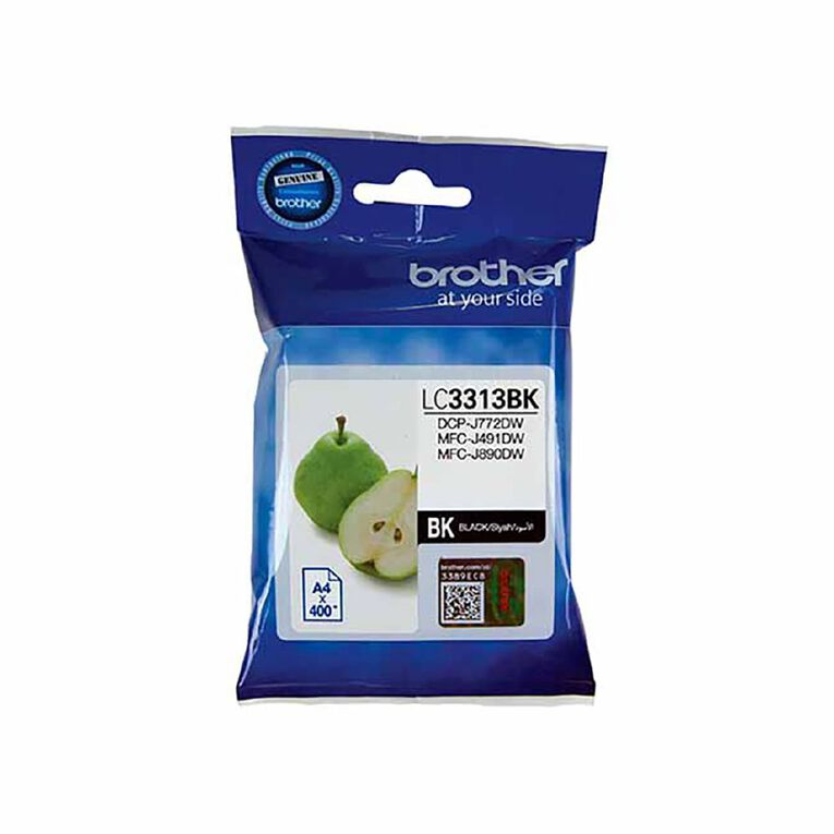 Brother LC3313BK Ink, , hi-res