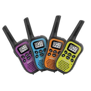 Uniden UH45-4 UHF Hand Held Radio Quad Colour Pack