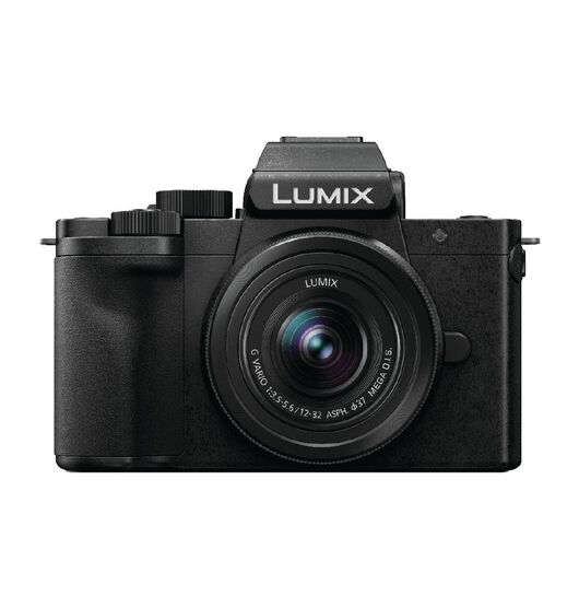 Image of Lumix DC-G100 Mirrorless Camera with 12-32mm Lens