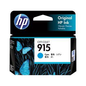 HP 915 Origiinal Ink Cartridge - Cyan