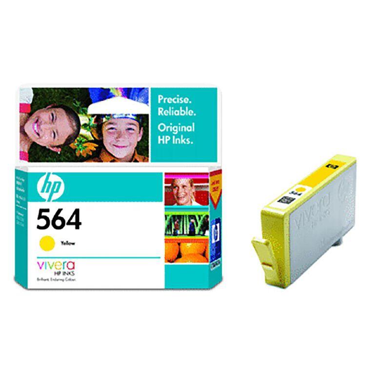 HP 564 Ink - Yellow, , hi-res
