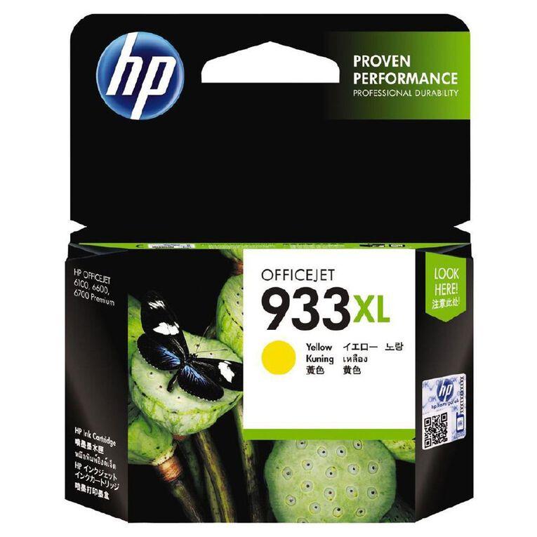 HP 933XL Ink - Yellow, , hi-res