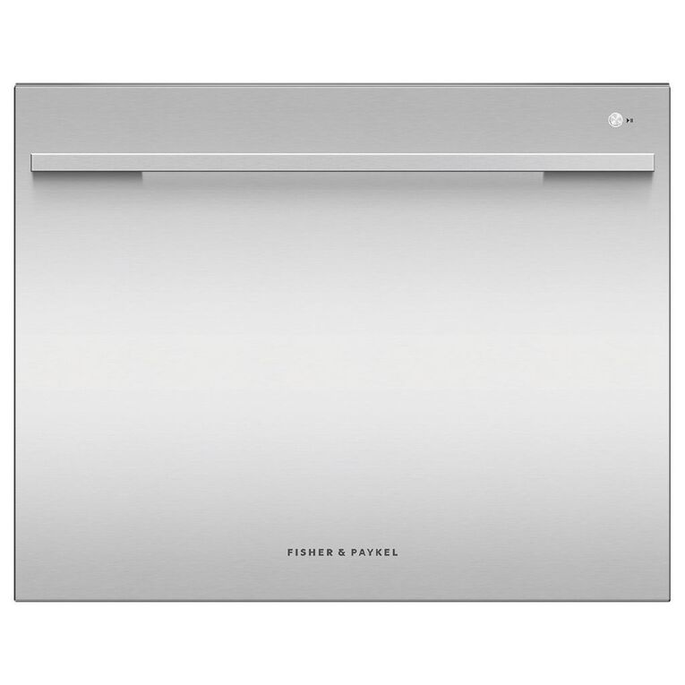 Fisher & Paykel 7 Place Setting Single Dish Drawer - Stainless Steel, , hi-res