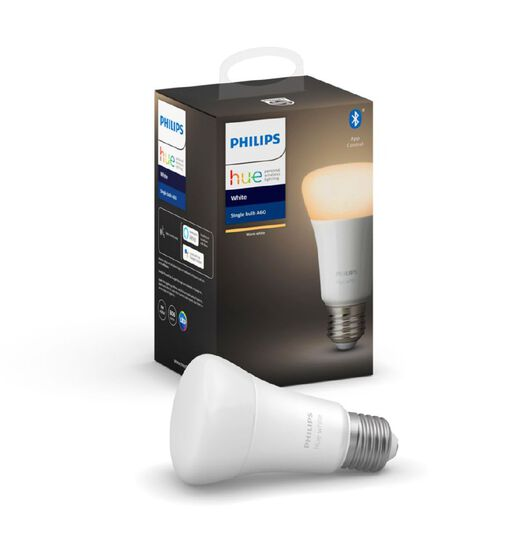 Philips Hue Warm White Bulb with Bluetooth 9W A60 E27 (Edison Screw Base)