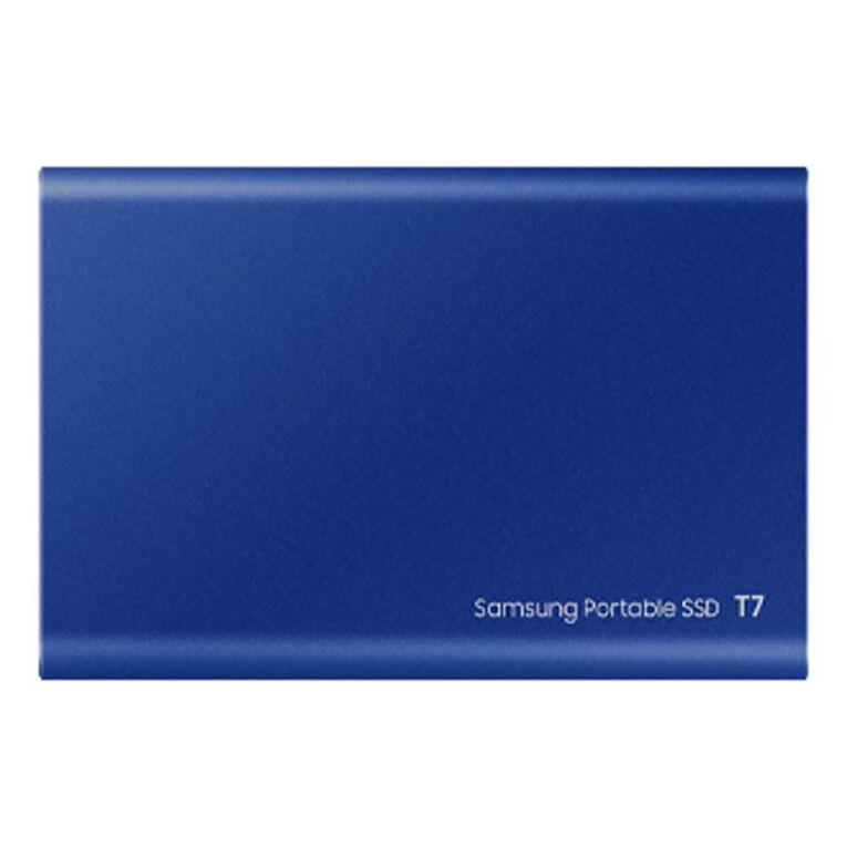 Samsung T7 Portable SSD - 2TB Indigo Blue, , hi-res