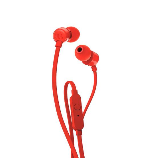 JBL T110 In Ear Headphones - Red