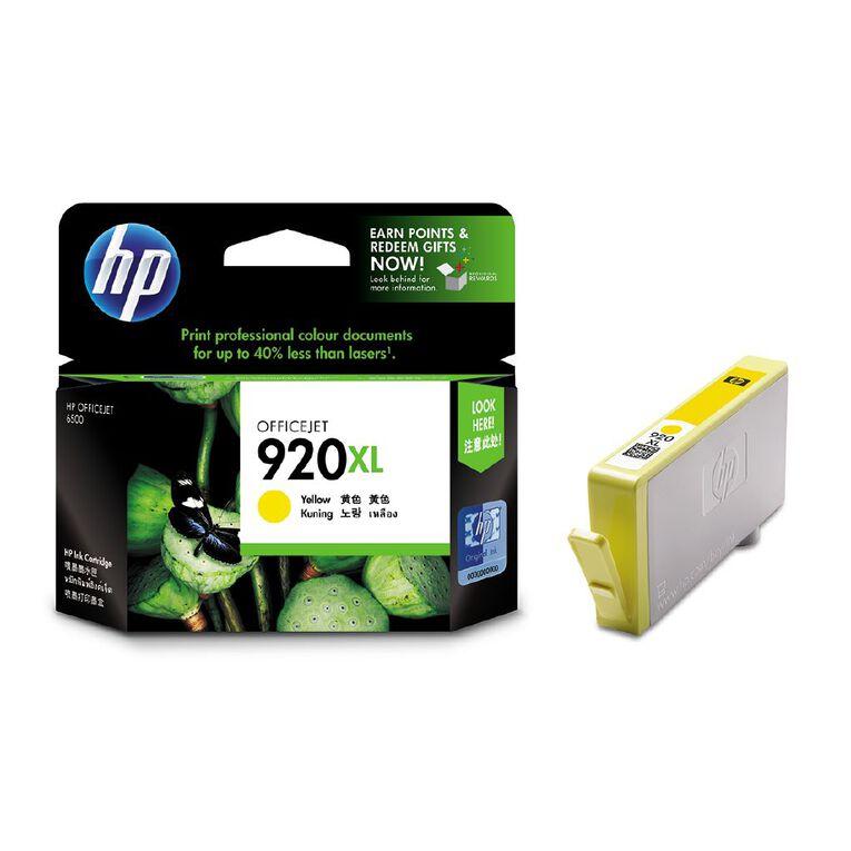 HP 920XL Ink - Yellow, , hi-res
