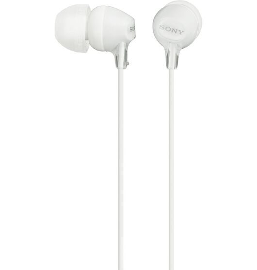 Sony In Ear Lightweight Headphones - White