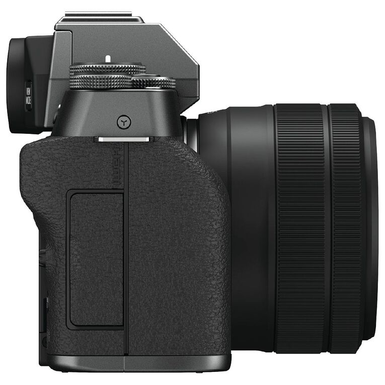 Fujifilm X-T200 Mirrorless Camera with 15-45mm Lens - Dark Silver, , hi-res