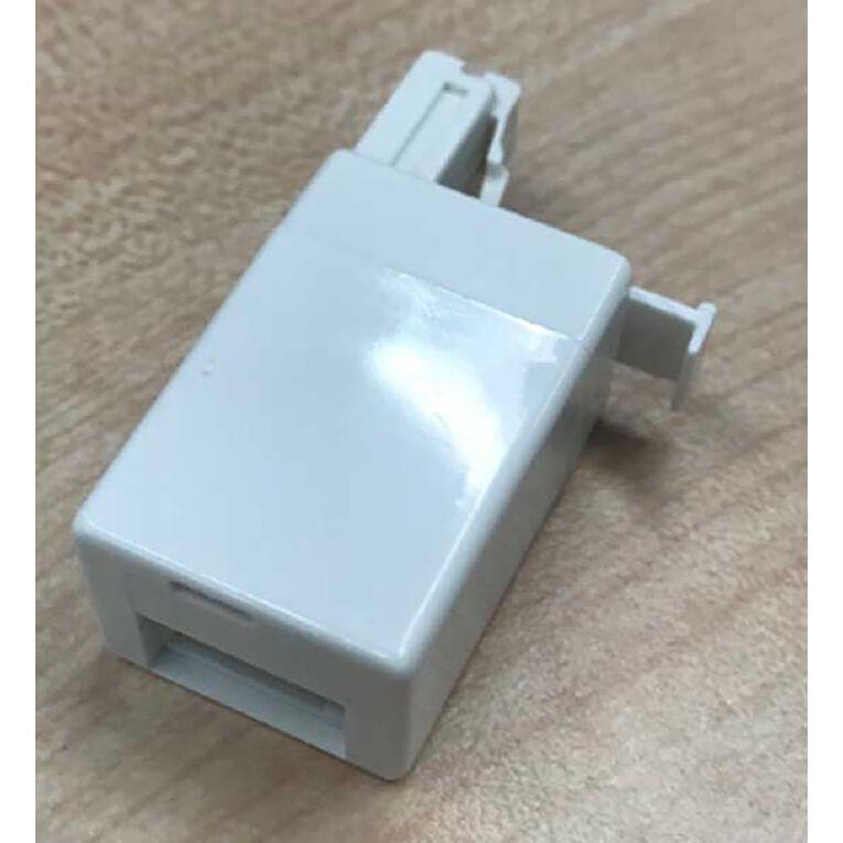 Endeavour Phone Adapter RJ11 Plug to NZ Socket, , hi-res