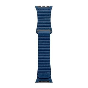 3SIXT Apple Watch Band - Leather Loop - 42/44mm - Blue