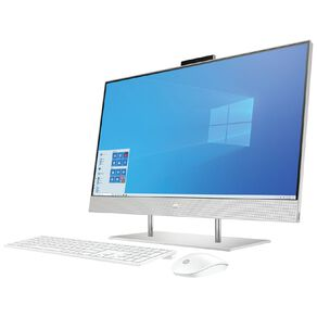 "HP 27"" Intel  i7-1165G7 16GB RAM 512GB SSD Storage FHD All in One Touchscreen Desktop"