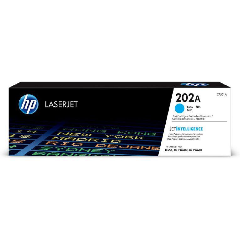 HP 202A Toner - Cyan, , hi-res