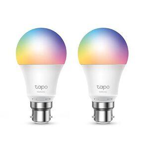 TP-Link Tapo L530B Smart Wifi Multicolour Bulb B22 2Pack