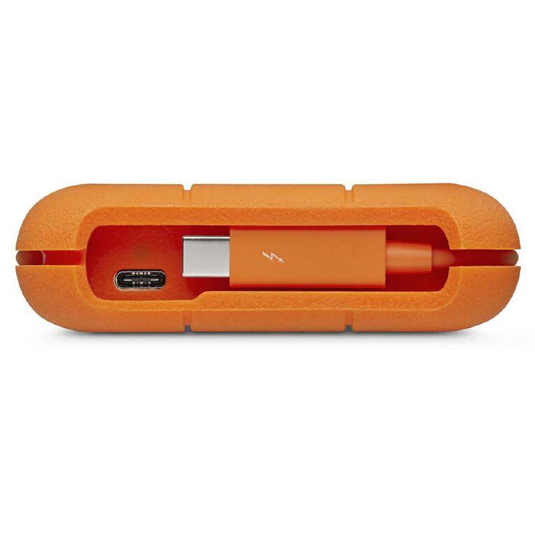 LaCie Rugged USB 3.1 + USB-C Portable Hard Drive - 2TB, , hi-res