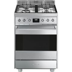 SMEG 60cm Freestanding Cooker with Gas Cooktop