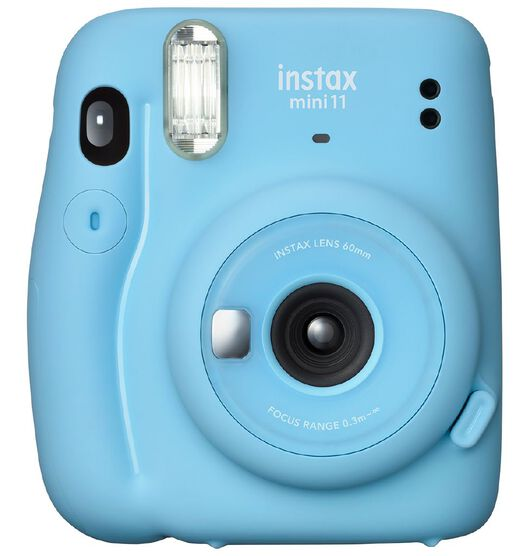 Fujifilm Instax Mini 11 Instant Photo Camera - Sky Blue