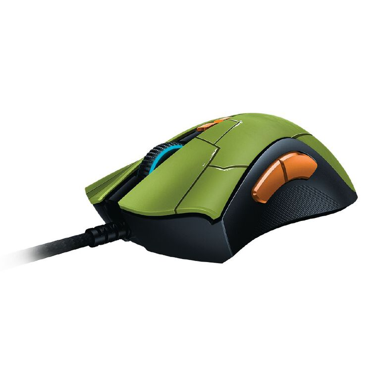 Razer DeathAdder V2 - Wired Gaming Mouse - HALO Infinite Edition - FRML Packaging, , hi-res