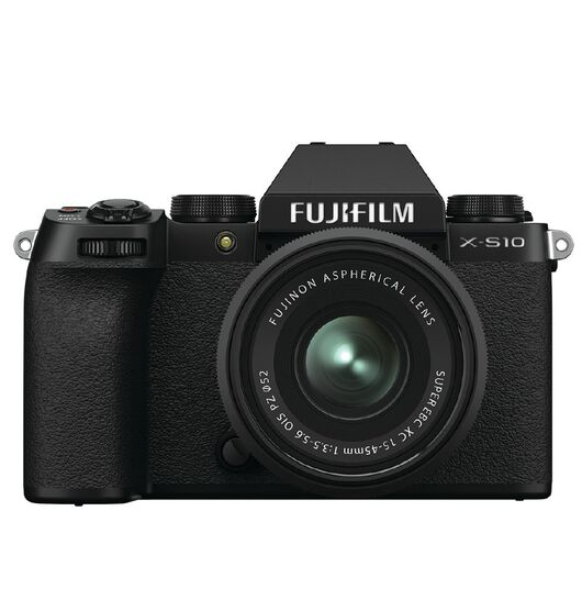 Fujifilm X-S10 Mirrorless Camera with 15-45mm Lens