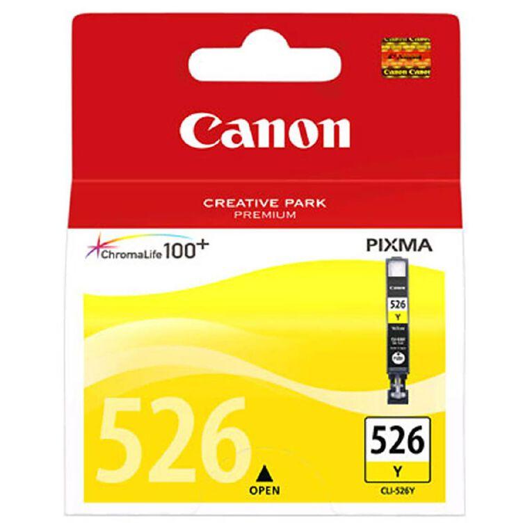 Canon CLI526Y Ink - Yellow, , hi-res