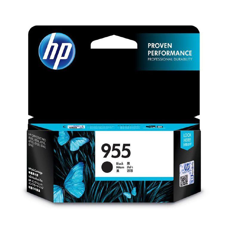 HP 955 Black Original Ink Cartridge, , hi-res