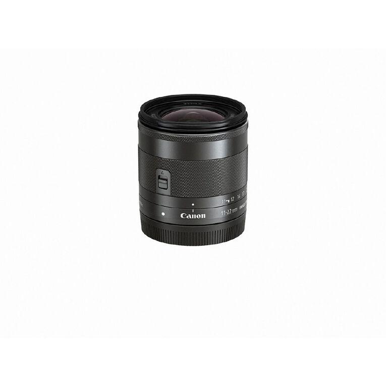 Canon EF-M 11-22MM IS STM Lens, , hi-res