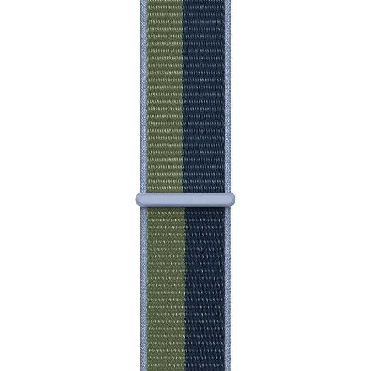 Apple 45mm Abyss Blue/Moss Green Sport Loop - Regular, , hi-res