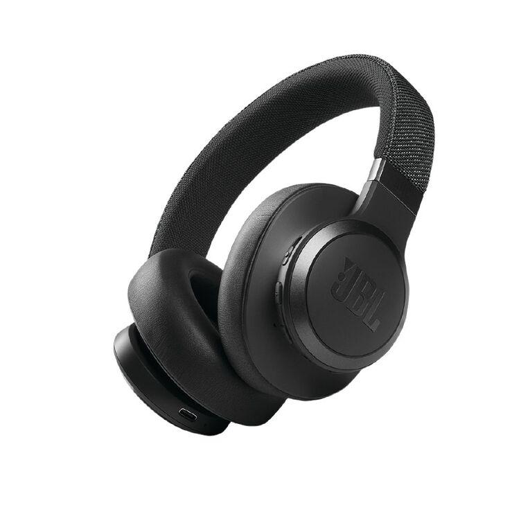 Image of JBL LIVE 660 Bluetooth Noise Cancelling Headphones - Black