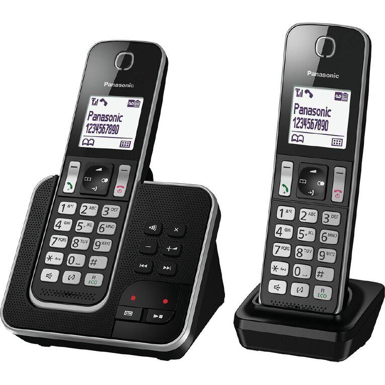 Panasonic KX-TGD322NZB Twin Cordless Phone Pack, , hi-res
