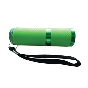 Endeavour 9 LED Glow In The Dark Torch - Green