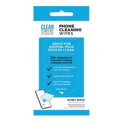 Casemate CleanScreenz Phone Wipes 20 Pack