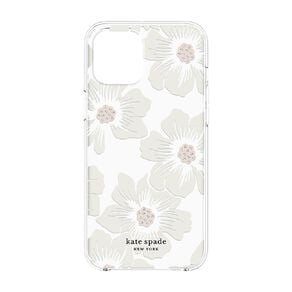 Kate Spade Hardshell iPhone 12/12Pro Hollyhock Floral Clear