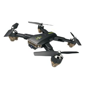 Play Sky Patrol Foldable Remote Controlled Drone with Auto Hovering and Camera