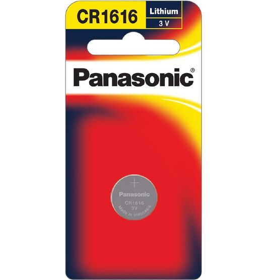 Panasonic 3V Lithium Battery 1 Pack 1616