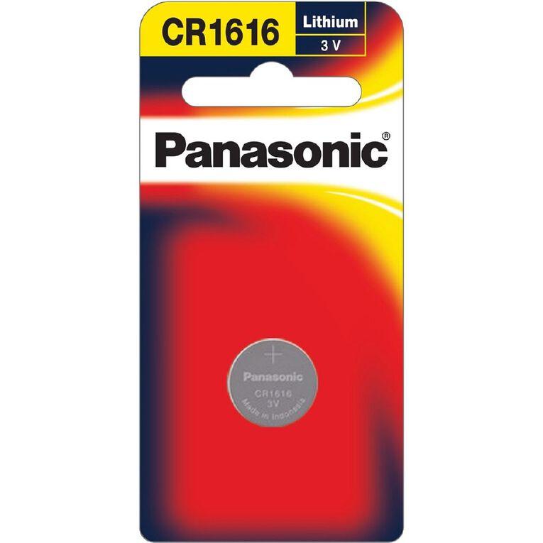 Panasonic 3V Lithium Battery 1 Pack 1616, , hi-res