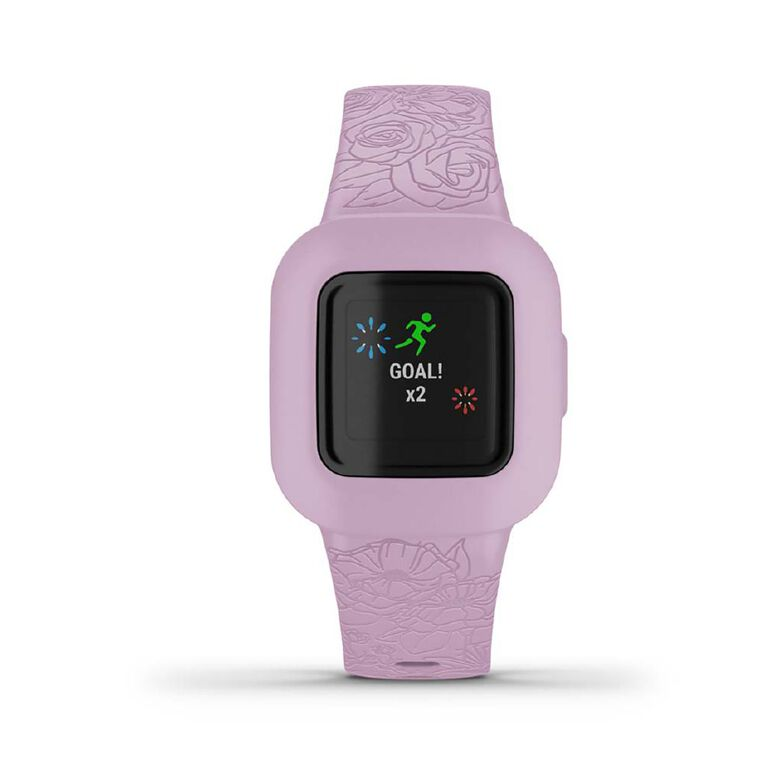 Garmin Vivofit Jr3 Floral/Pink, , hi-res